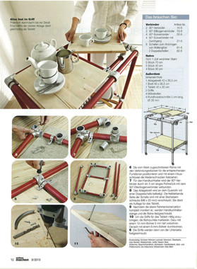 artikel im selber machen magazin servierwagen was werden sie bauen. Black Bedroom Furniture Sets. Home Design Ideas