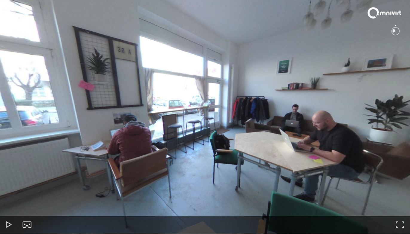 36° Panorama des Co-Working Space